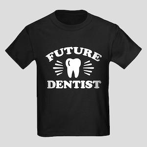 Future Dentist Kids Dark T-Shirt