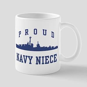 Proud Navy Niece Mug