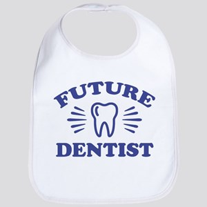 Future Dentist Cotton Baby Bib