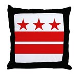 3 Stars and 2 Bars Throw Pillow