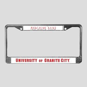 Red & Black Oops! License Plate Frame