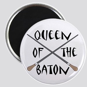 King or Queen Of The Baton Magnet
