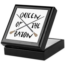 King or Queen Of The Baton Keepsake Box