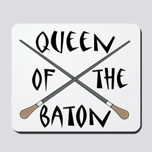 King or Queen Of The Baton Mousepad