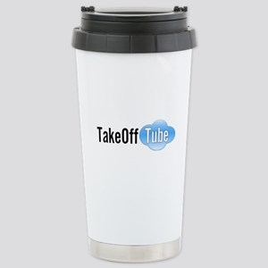 Takeoff Tube Stainless Steel Travel Mug
