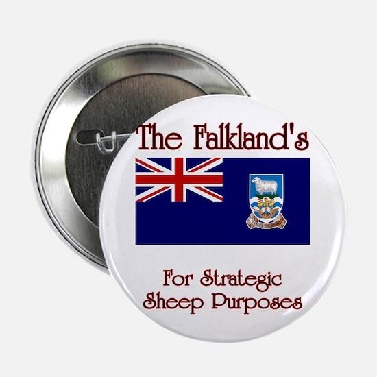 """The Falkland's 2.25"""" Button"""