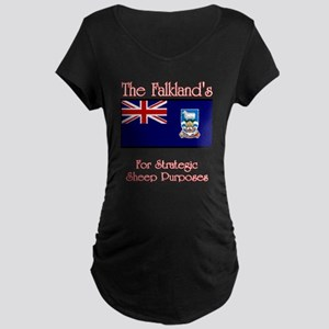 The Falkland's Maternity Dark T-Shirt