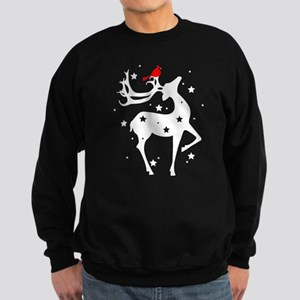 Winter Reindeer Sweatshirt (dark)
