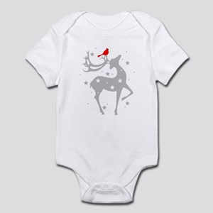 Winter Reindeer Infant Bodysuit