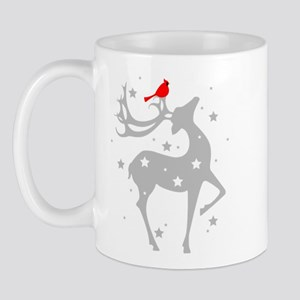 Winter Reindeer Mug