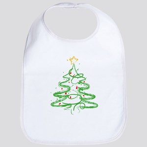 Christmas Tree Bib