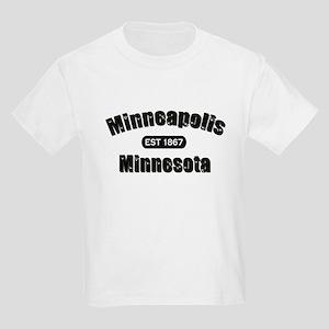 Minneapolis Established 1867 Kids Light T-Shirt