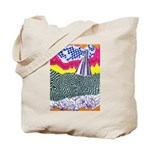Lines on the Land - Land 1 Tote Bag