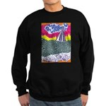 Lines on the Land - Land 1 Sweatshirt (dark)