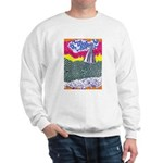 Lines on the Land - Land 1 Sweatshirt