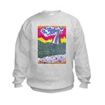 Lines on the Land - Land 1 Kids Sweatshirt
