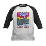 Lines on the Land - Land 1 Kids Baseball Jersey
