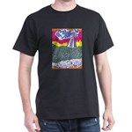 Lines on the Land - Land 1 Dark T-Shirt