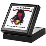The Devil Comes Keepsake Box