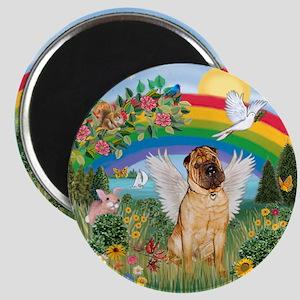 Rainbow - Shar Pei 2 Magnet