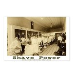 SHAVE POWER Postcards (Package of 8)