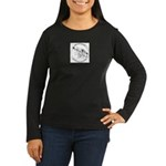 TaiChi KungFu Women's Long Sleeve Dark T-Shirt