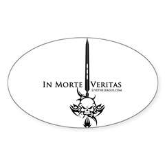The League Oval Sticker (10 pk)
