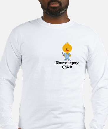 Neurosurgery Chick Long Sleeve T-Shirt