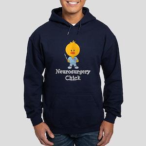 Neurosurgery Chick Hoodie (dark)