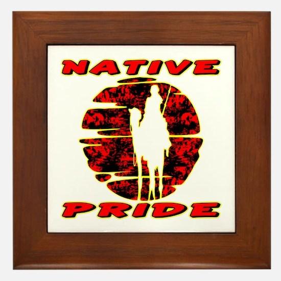 Native Pride #1002 Framed Tile