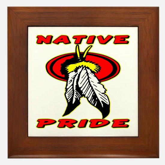Native Pride #1001 Framed Tile
