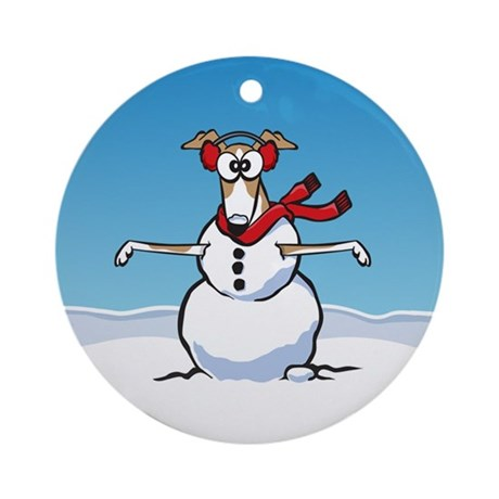 SnowGrey Ornament (Round)