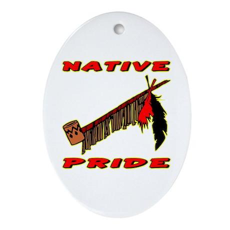 Native Pride #021 Oval Ornament