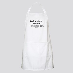 Conference Call -  BBQ Apron