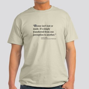 Gordon Gekko T-Shirt (three colors)