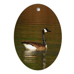 Canada Goose Oval Ornament (oval)