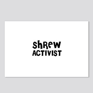 SHREW ACTIVIST Postcards (Package of 8)