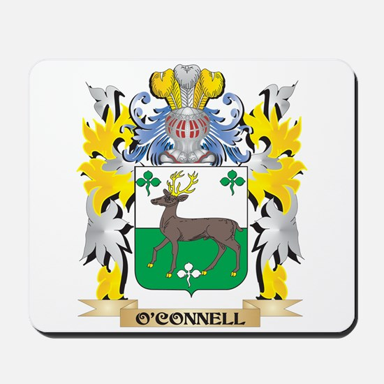 O'Connell Family Crest - Coat of Arm Mousepad