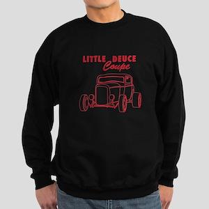 Hot Rod Ford Deuce Red Sweatshirt (dark)