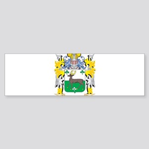 O'Connell Family Crest - Coat o Bumper Sticker