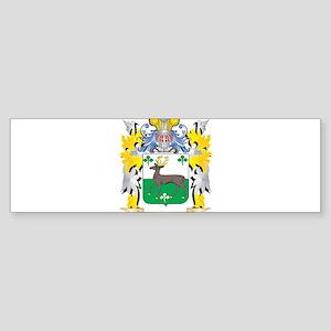O'Connell Family Crest - Coat o Bumper Sticker