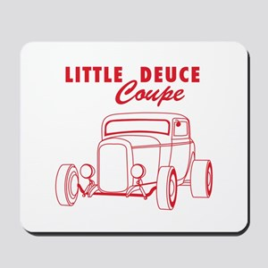 Hot Rod Ford Deuce Red Mousepad
