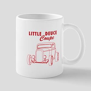 Hot Rod Ford Deuce Red Mug