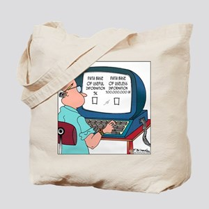 Data Base of Useless Information Tote Bag
