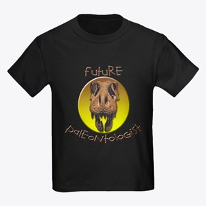 Future paleontologist Kids Dark T-Shirt