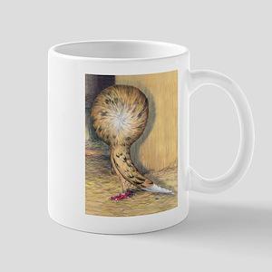 Almond Jacobin Pigeon Mug