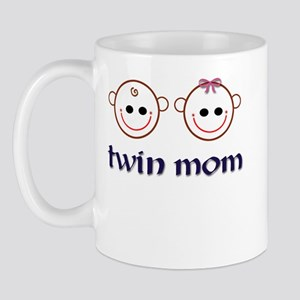 Twin Mom (boy & girl) Mug