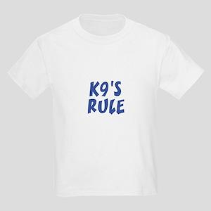 K9's RULE Kids T-Shirt