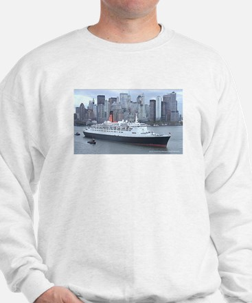 QE2 New York Final Departure Sweatshirt