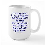 Reagan Clone Large Mug